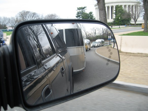 Reflecting on the Capital Caravan.