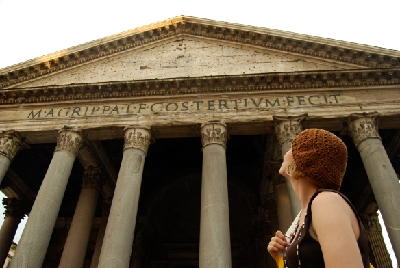 The Pantheon, one of the coolest (and oldest) buildings in all of Rome.