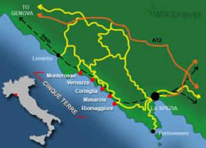 The Cinque Terre.