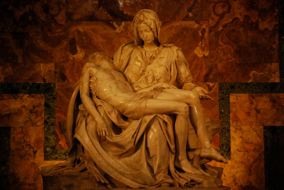 Michelangelo's La Pieta.