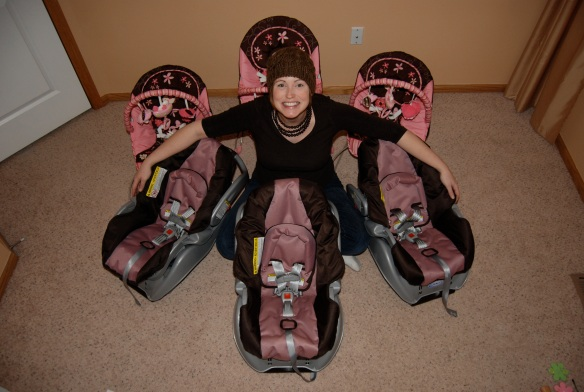 Missy with Baby Seats