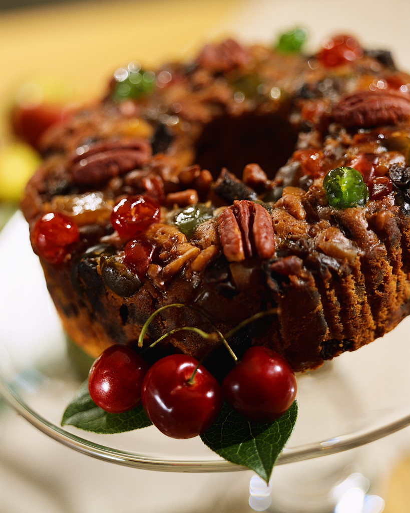 Ah, the Christmas fruitcake . The proverbial butt of holiday jokes ...