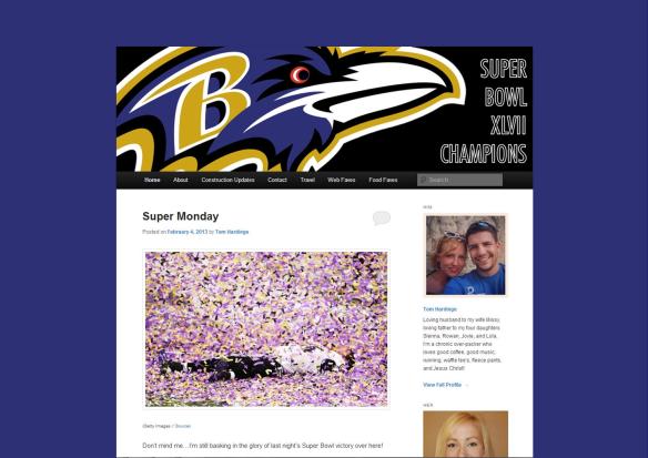 ravens homepage