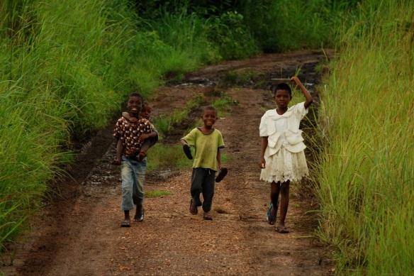 ghana farm kids