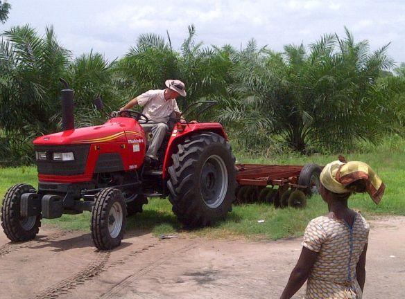Steve in Ghana