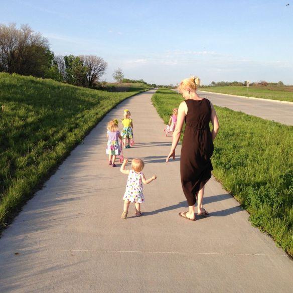 lola on a walk 2