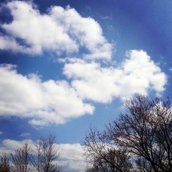 Puffy Clouds in Iowa