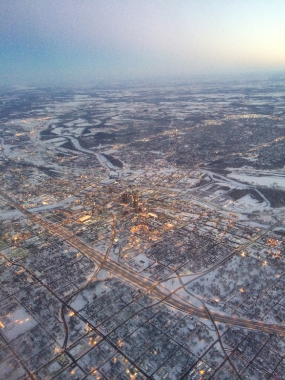 des moines from above