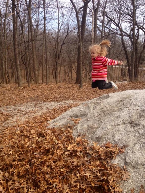 Leaf Jumping 1