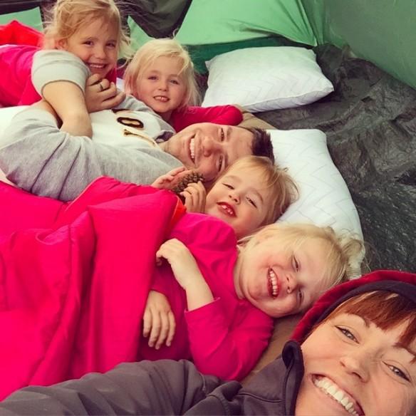 camping snuggle