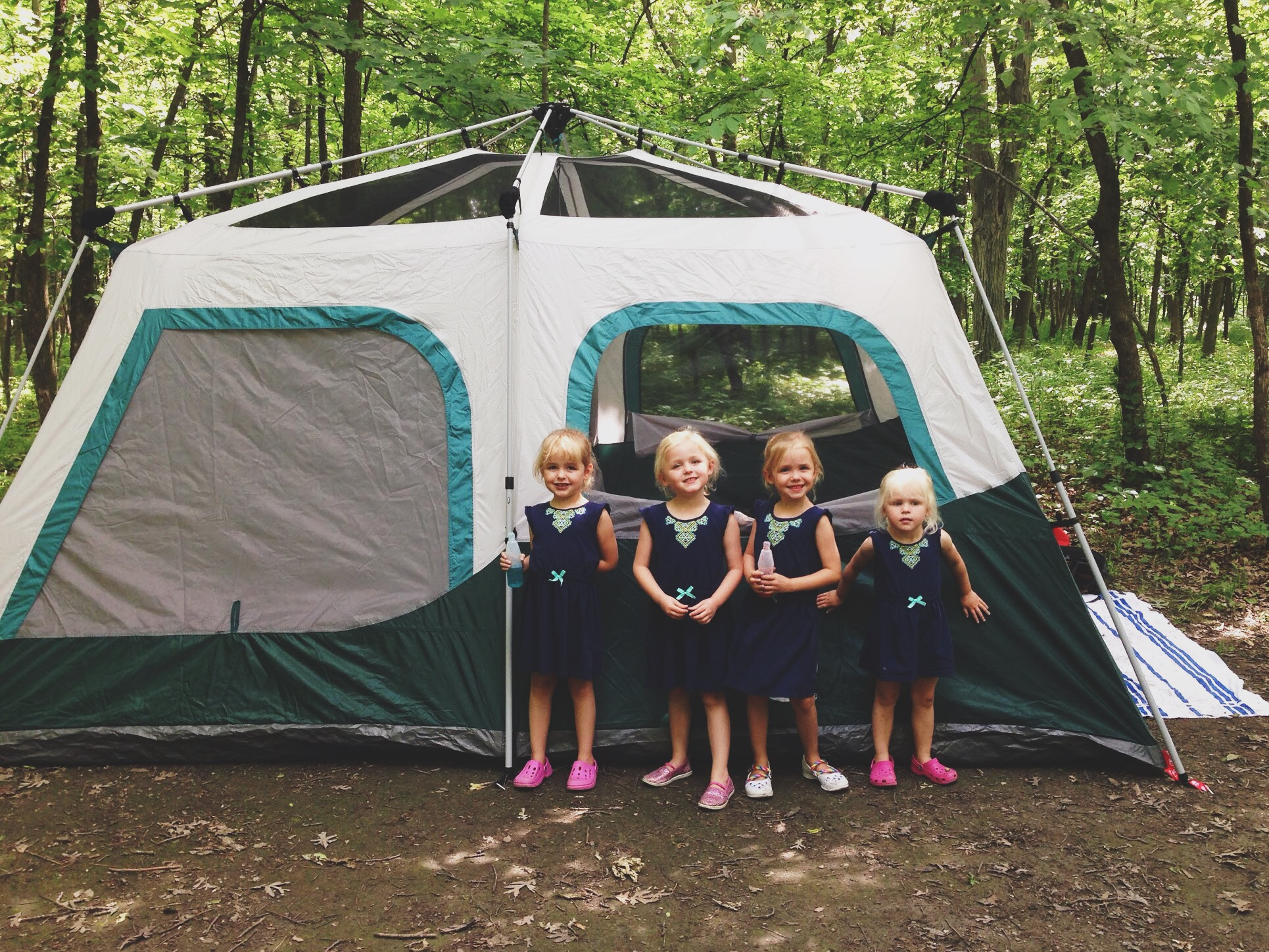 Seriously our girls love tents. We could put up a tent in our backyard (we have) and they would be entertained for hours on end. & Camping with Kids: Itu0027s In Tents! | living in pursuit