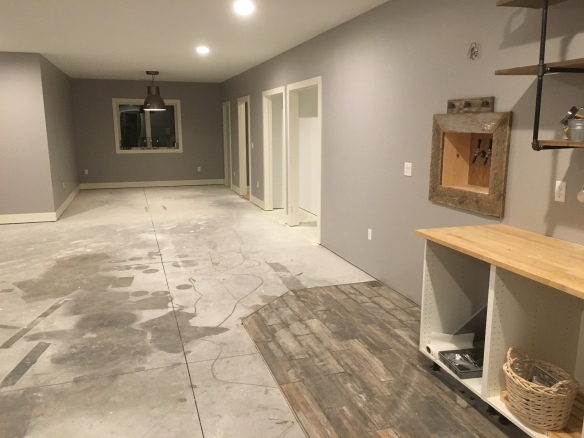 basement update