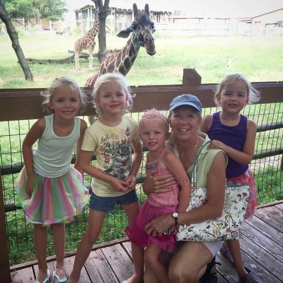 mom at zoo